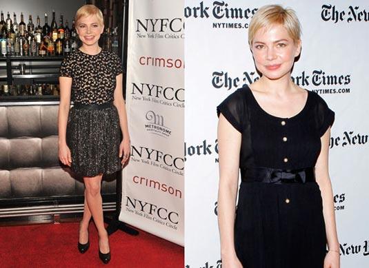Michelle Williams, 2011 New York Film Critics Circle Awards