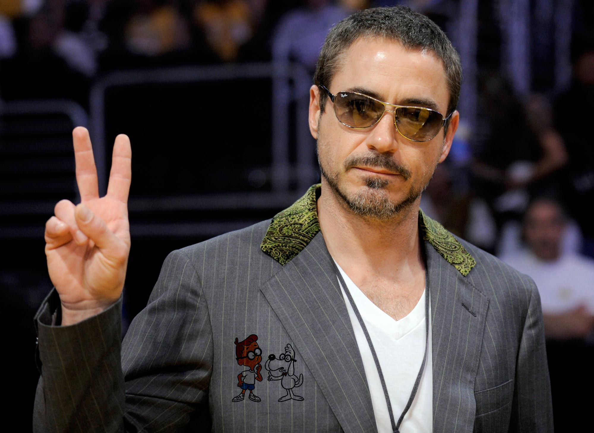 Robert Downey Jr will give his voice to the new DreamWorks Animation ... Robert Downey
