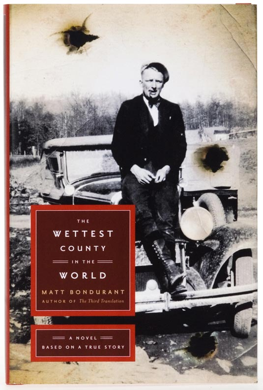 The Wettest County in the World Book Cover