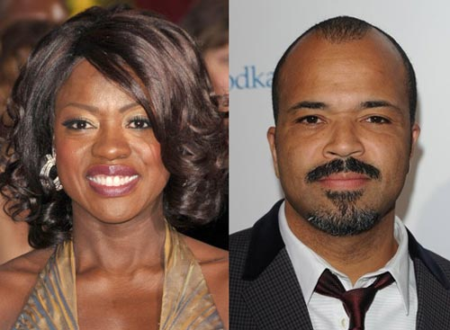 Viola Davis and Jeffrey Wright