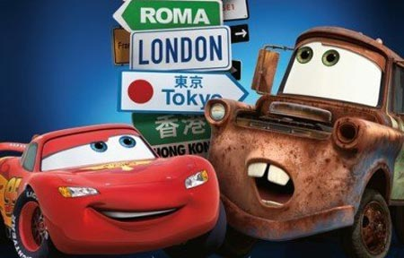 Cars 2 which will be released in 2d and 3d theaters nationwide on