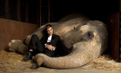Robert Patinson in Water for Elephants