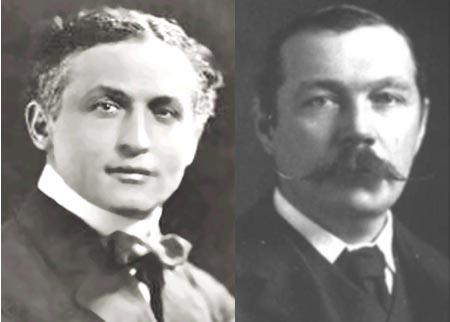 Harry Houdini and Arthur Conan Doyle