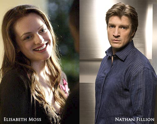 Elisabeth Moss & Nathan Fillion
