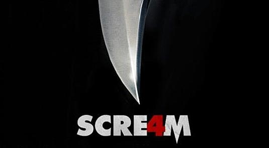 New Official Scream 4 Poster - FilmoFilia