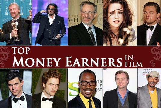 Hollywood's Top 40 Earners in 2010