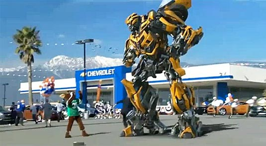 Transformers 3, Bumblebee | Chevy Camaro