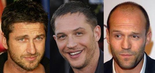 Gerard Butler, Tom Hardy, Jason Statham