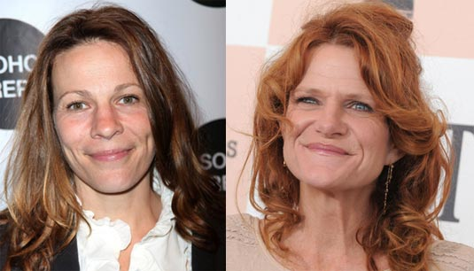 Lili Taylor and Dale Dickey