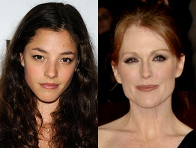 Olivia Thirlby and Julianne Moore