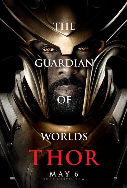 Thor Poster,  Idris Elba as Heimdall