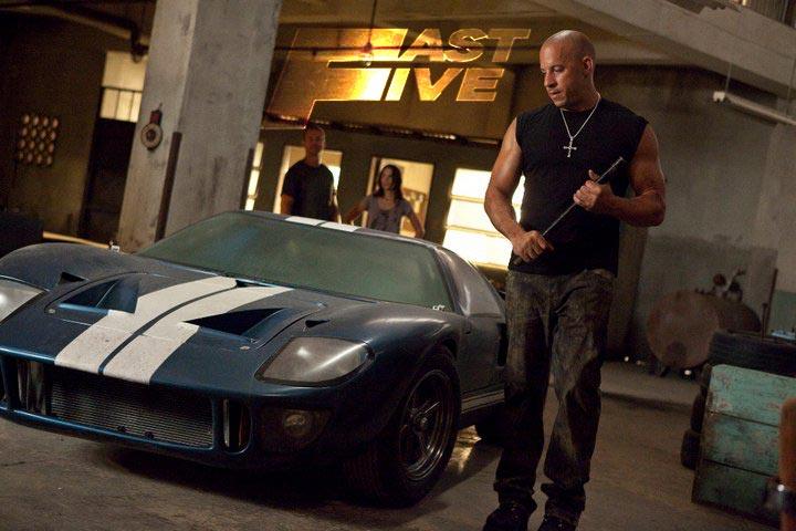 Fast Five, Vin Diesel