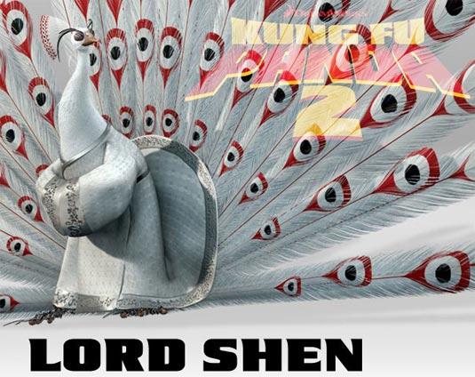 Kung Fu Panda 2, Lord Shen