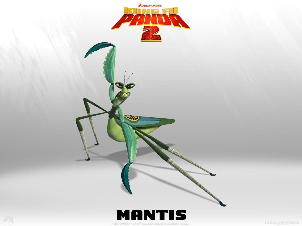 Kung fu panda mantis voice