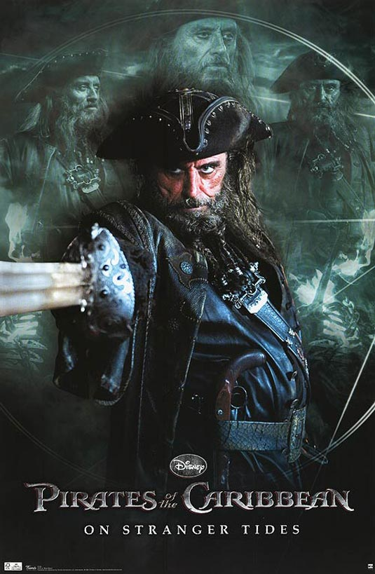 More Pirates of the Caribbean 4 Posters and Images