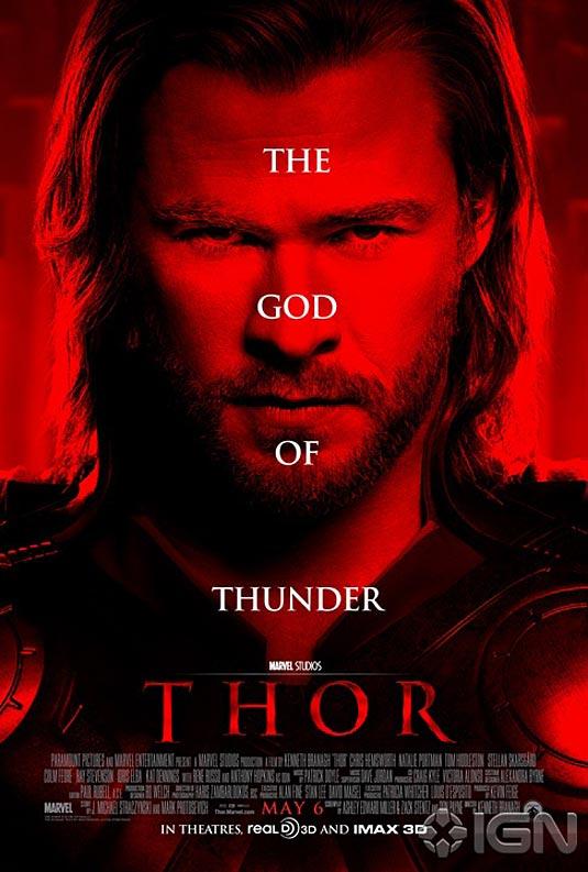 idris elba thor poster. Thor Poster