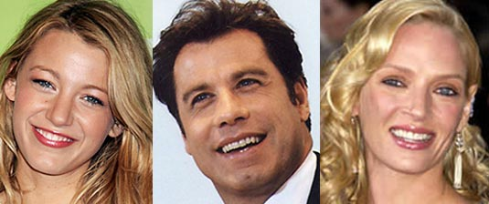 Blake Lively, John Travolta, Uma Thurman