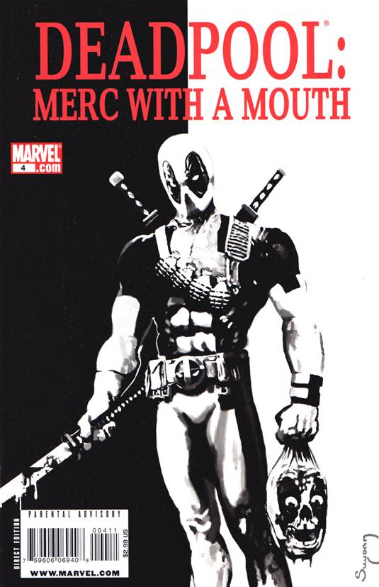 Deadpool-Merc with a Mouth, Vol.1-4