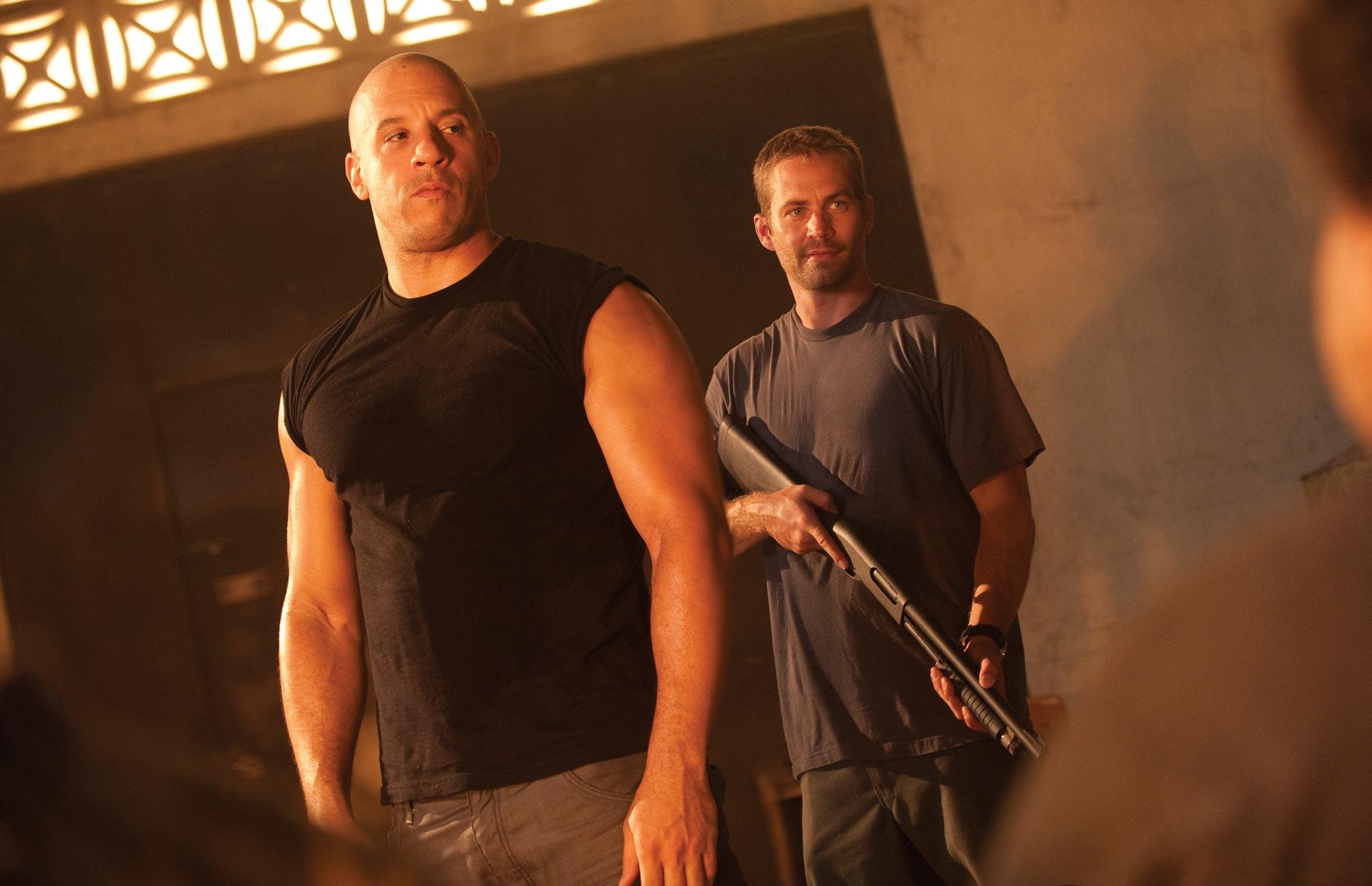 Fast and Furious 5, Vin Diesel and Paul Walker