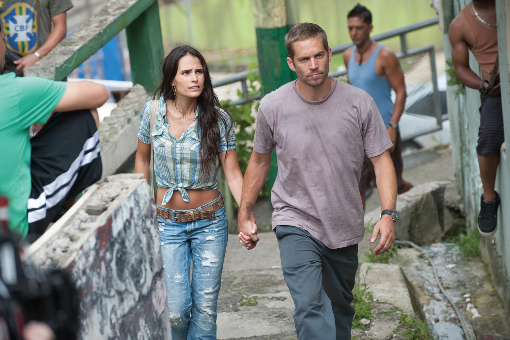 Fast and Furious 5, Jordana Brewster and Paul Walker