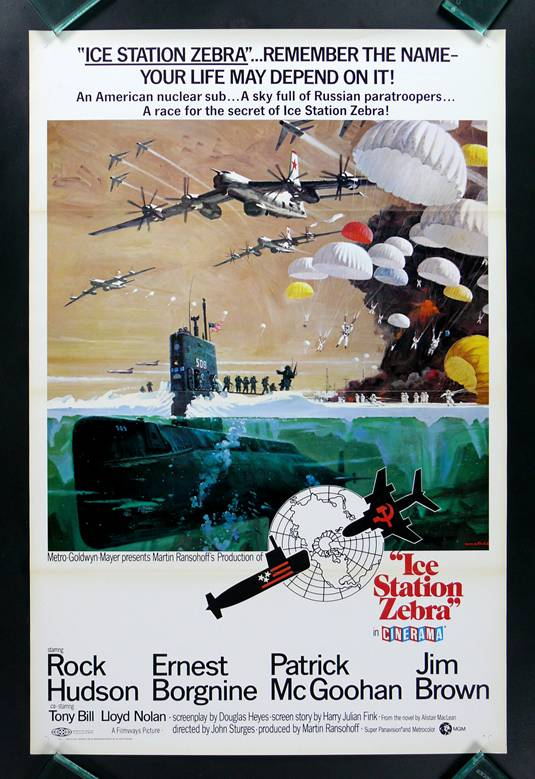 Ice Station Zebra, Poster (1968)