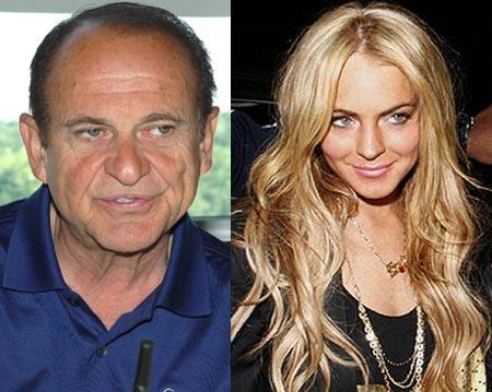 Joe Pesci and Lindsay Lohan
