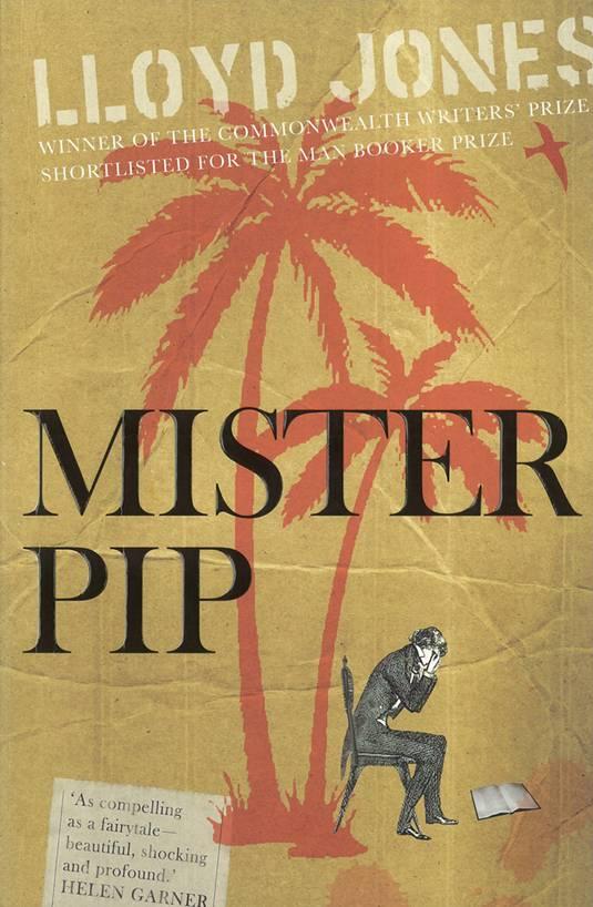 Lloyd Jones, Mr. Pip, Cover