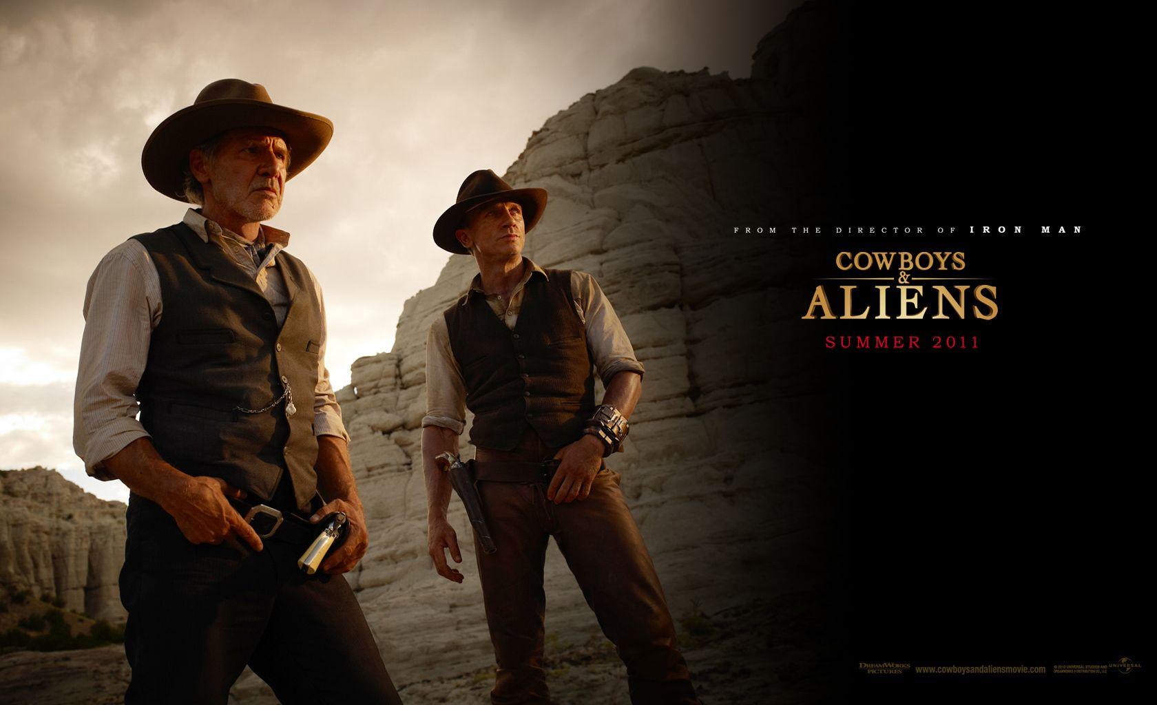 Cowboys aliens wallpaper