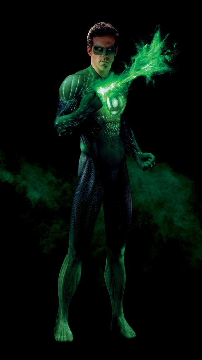 ryan reynolds green lantern suit. June 17th, 2011. Detailed