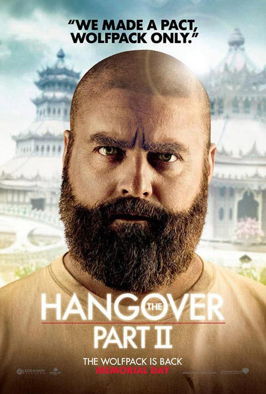 Hangover 2 Poster, Alan (Zach Galifianakis)