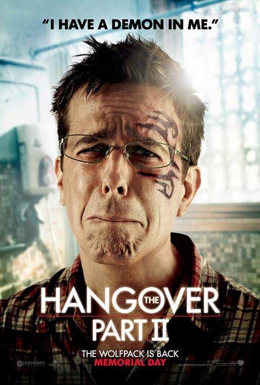 Hangover 2 Poster, Stu (Ed Helms)