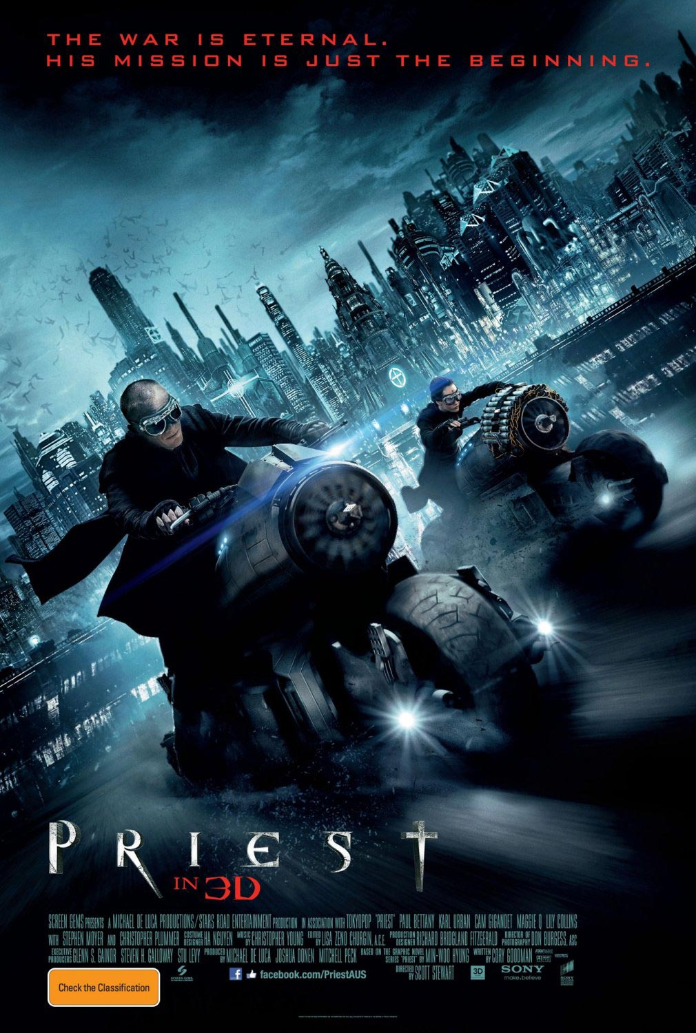 10 New Priest Movie Photos And Poster