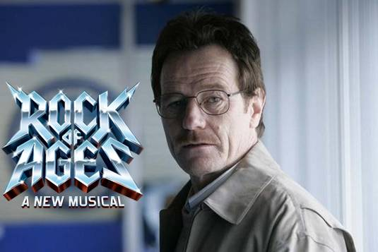 Bryan Cranston, Rock of Ages