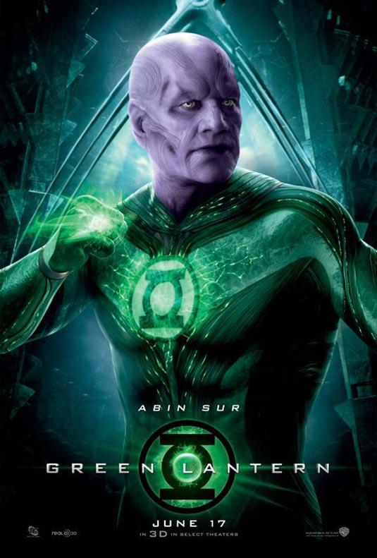 Green Lantern Poster, Abin Sur