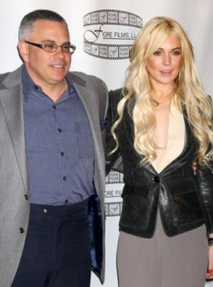 John A. Gotti and Lindsay Lohan