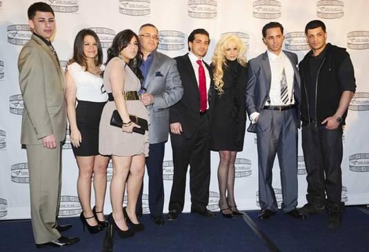 Real Gotti Family at a film press