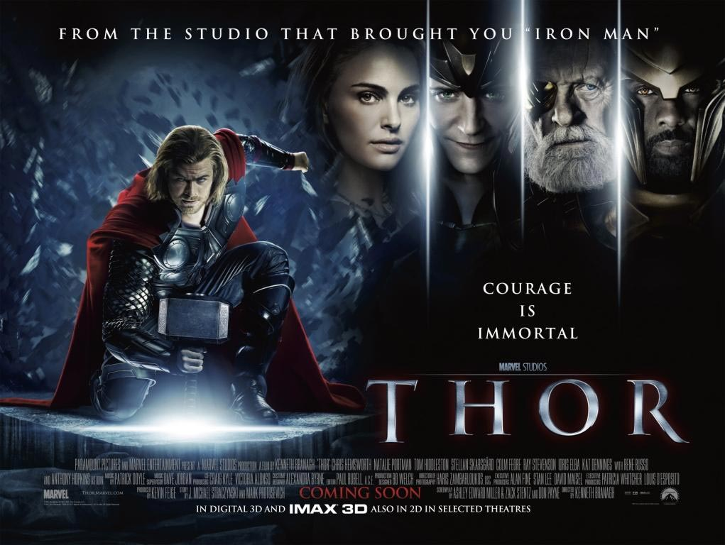 Movie Posters 2011: Thor Original Soundtrack By Patrick Doyle