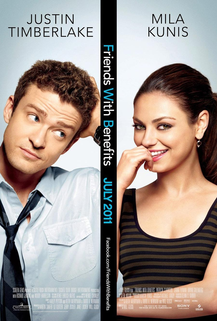 Friends With Benefits Poster - FilmoFilia