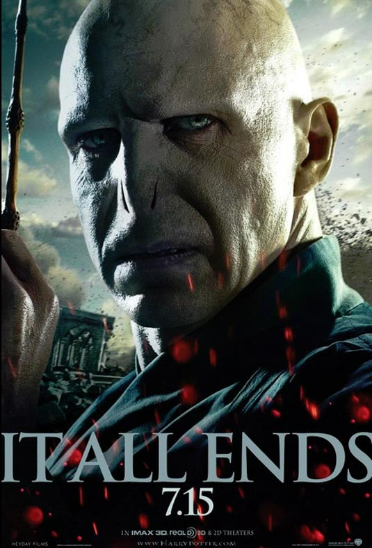 Voldemort (Ralph Fiennes), Harry Potter and the Deathly Hallows – Part 2  Poster
