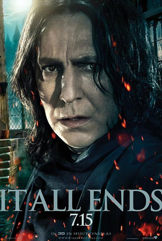 Alan Rickman as Severus Snape, Harry Potter and the Deathly Hallows: Part 2 (2011)