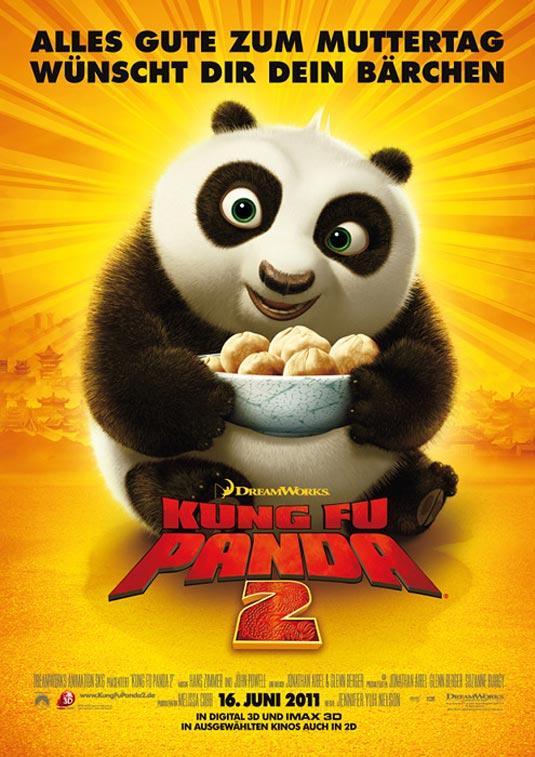 Kung Fu Panda 2 Poster (Germany)