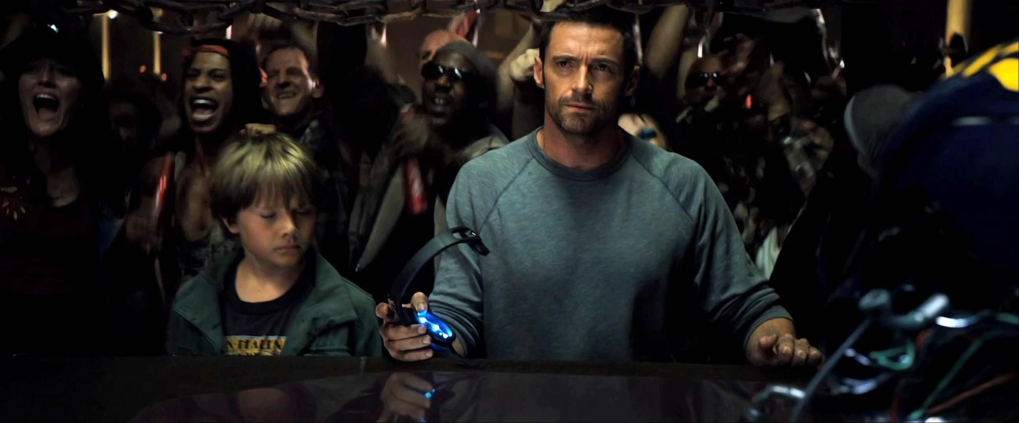 Hugh Jackman, Real Steel Movie Photo
