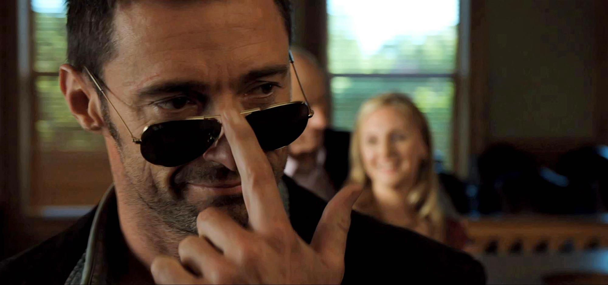Hugh Jackman as Charlie Kenton in Real Steel