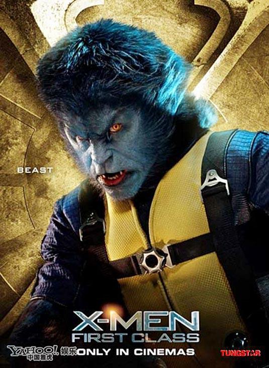 Nicholas Hoult as Hank McCoy / Beast, X-Men: First Class Poster
