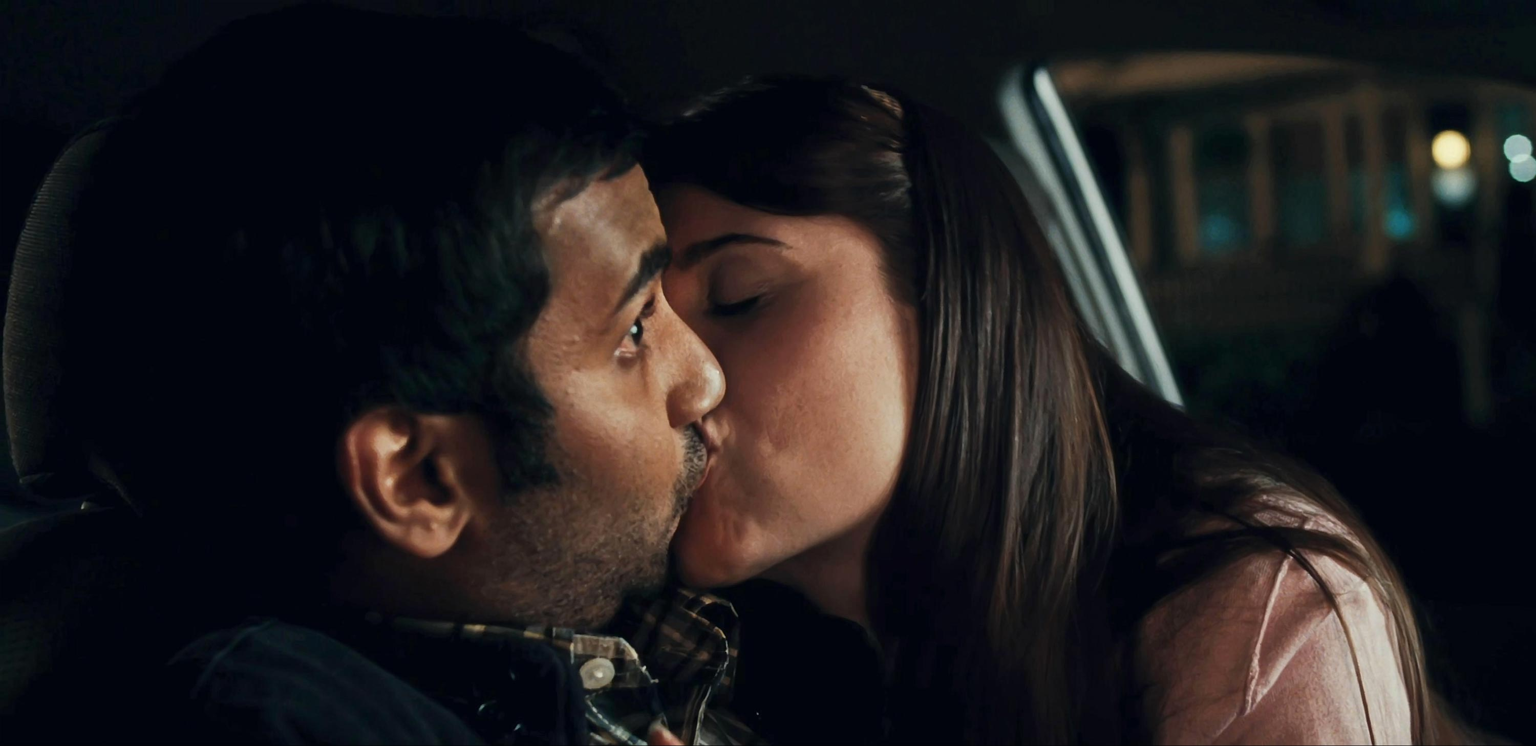 Aziz Ansari and Dilshad Vadsaria in 30 Minutes or Less