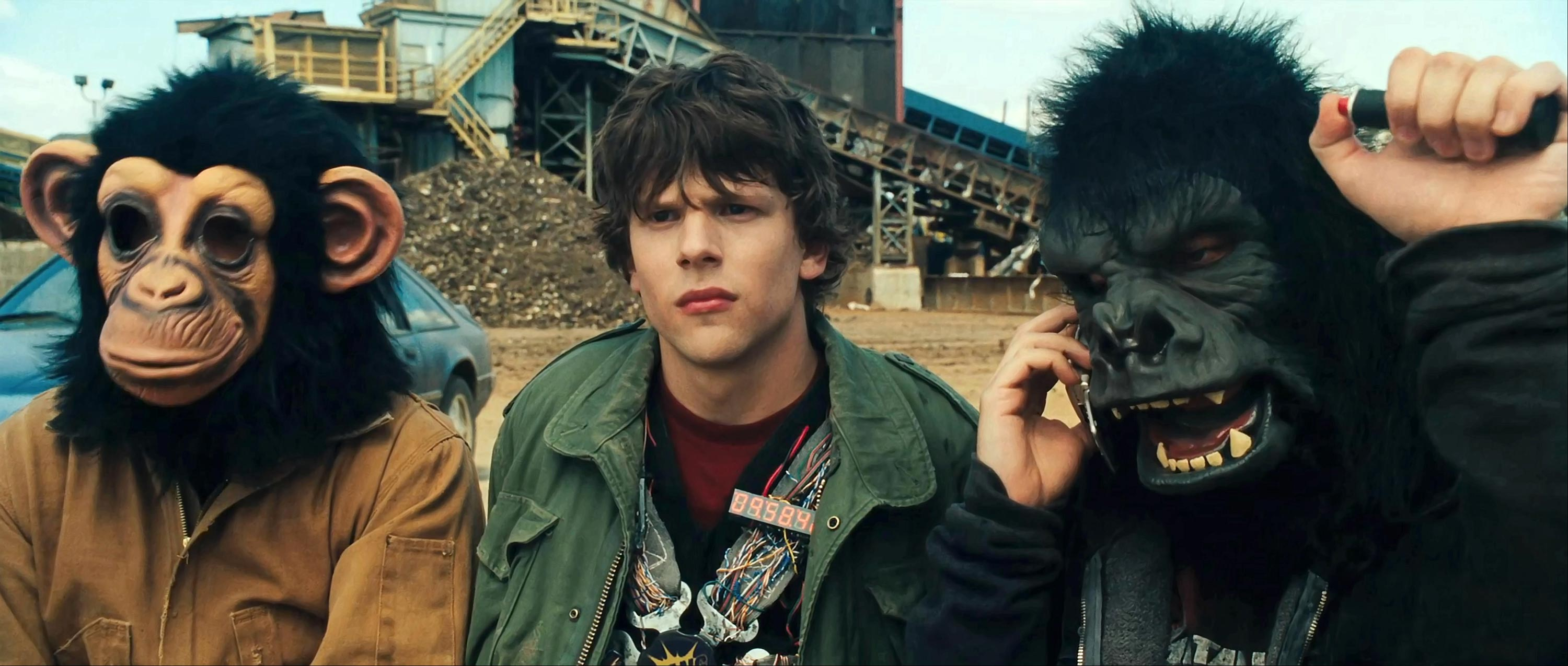 Jesse Eisenberg as Nick in 30 Minutes or Less