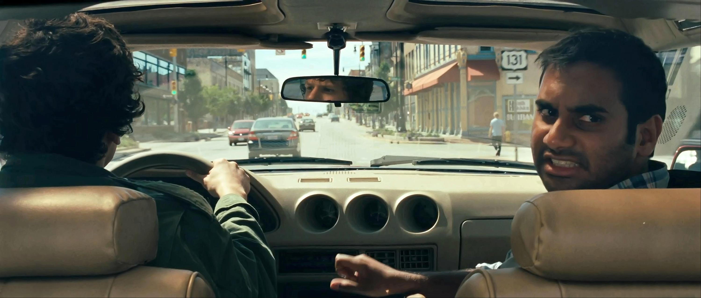 Jesse Eisenberg and Aziz Ansari in 30 Minutes or Less