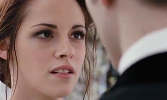 Kristen Stewart as Bella Swan, The Twilight Saga: Breaking Dawn - Part 1