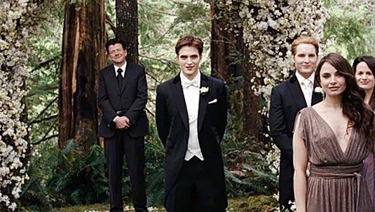 Robert Pattinson as Edward Cullen, The Twilight Saga: Breaking Dawn - Part 1