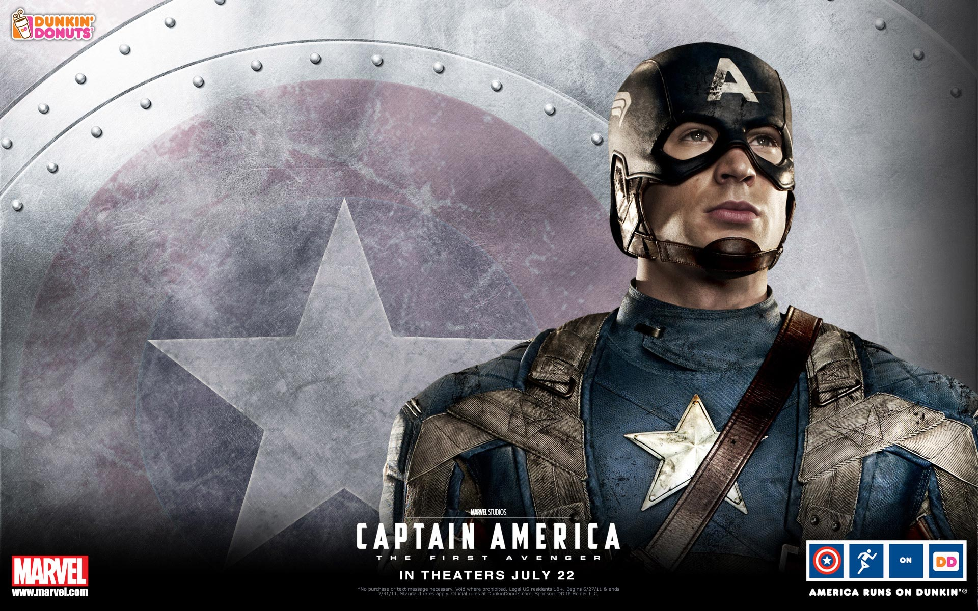International captain america the first avenger poster for Captain america